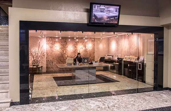 The Marble Creations, Inc. showroom and office